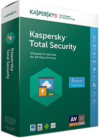 Kaspersky Total Security 5PC/1Ano Renovação