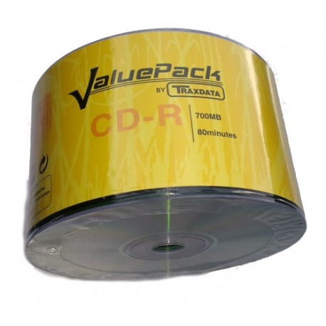 CD-R 700MB 52X (Pack 50)