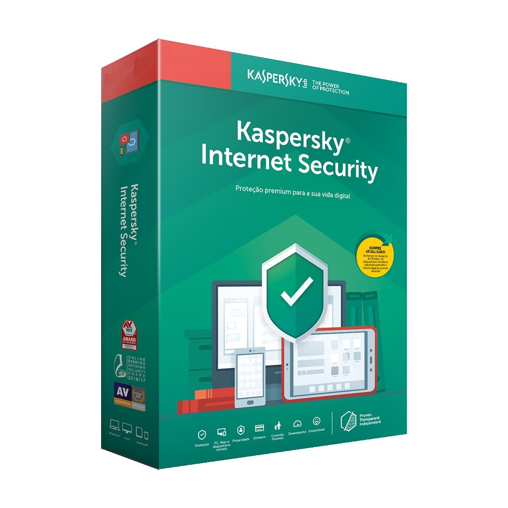Kaspersky Internet Security 5PC/1Ano